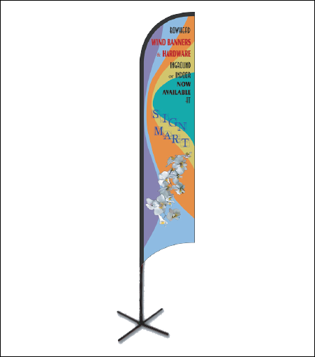 Sign Mart Feather Wind Banner