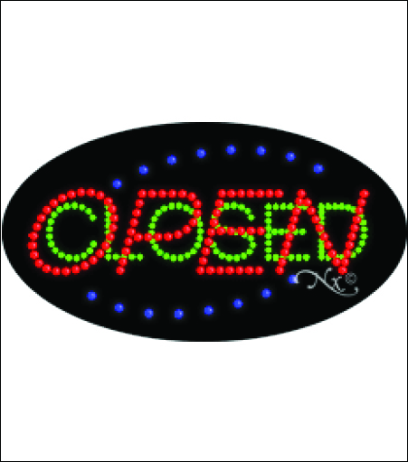 LED Open Closed Sign
