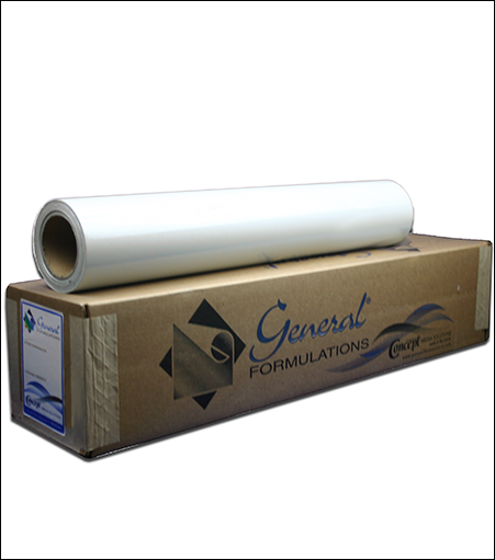 General Formulations® 223 Semi-Rigid White PVC Vinyl
