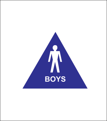 """12"""" Boys Sign"""