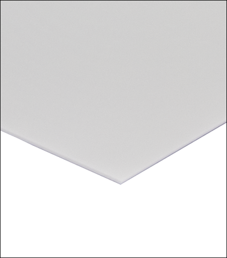 "White Painted Aluminum Sheet 0.080/"" x 12/"" x 12/"""