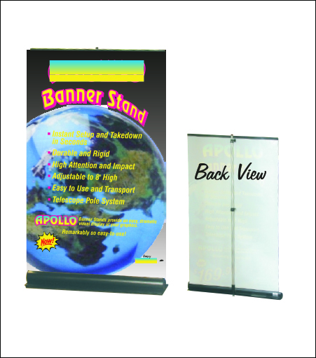 "Apollo ""Roll-Up"" Banner Stand"