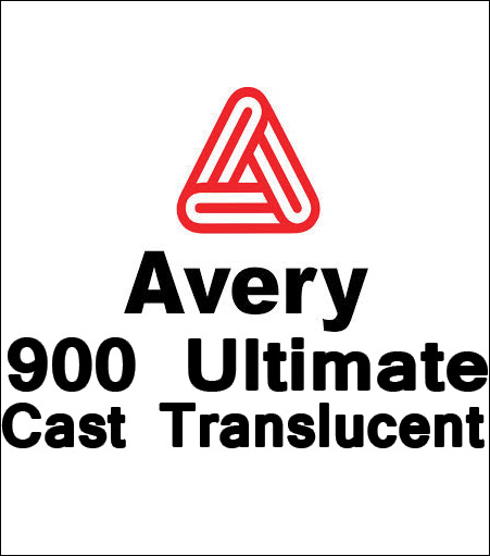 Avery 900 Ultimate Cast Translucent Vinyl