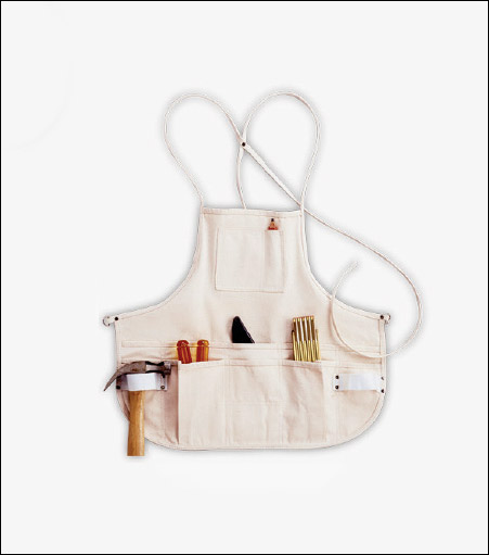 12-Pocket Canvas Bib Apron