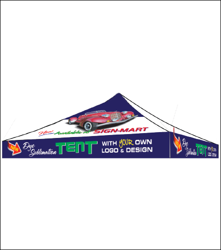 Custom Printed Tent (Canopy Only)