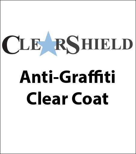 ClearShield® Anti-Graffiti Clear Coat