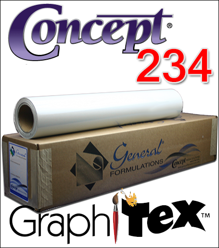 "General Formulations® 234 ""GraphiTex""™ Fabric Wall Film"