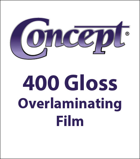 General Formulations® 400 UV High Gloss Overlaminating Film