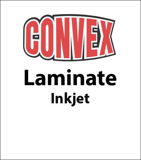 Convex Inkjet Laminate