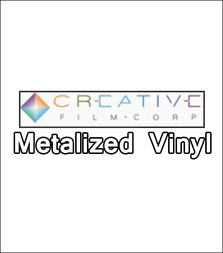 Creative Metalized Vinyl Film (By the Foot)