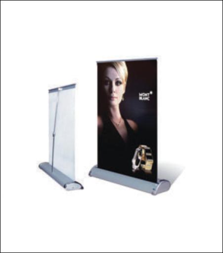 Desktop Roll Up Display