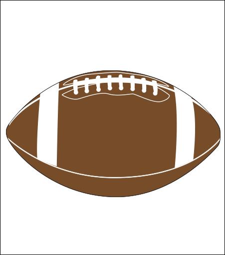 Printed Corrugated Shape - Football