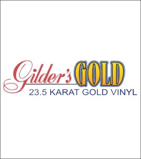 Gilder's Gold 23.5 Karat Gold Vinyl