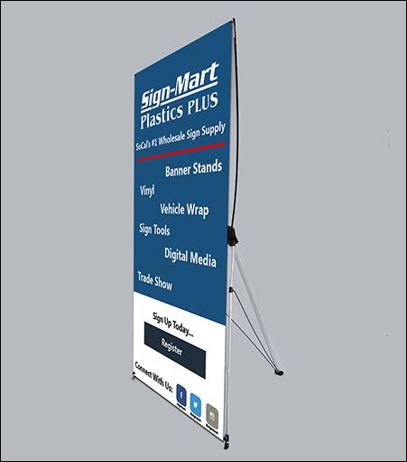 Indoor X Banner Stand