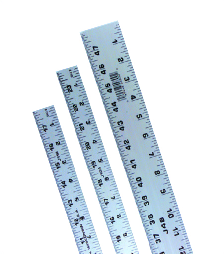 Johnson Aluminum Rulers