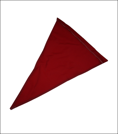Solid Color Nylon Pennants