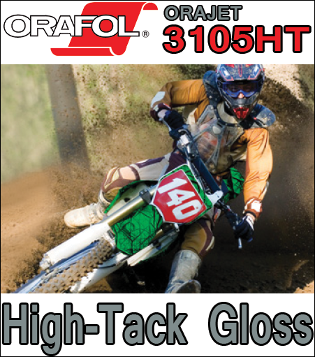 Orafol / Oracal Orajet® 3105HT High-Tack Gloss Calendered Vinyl