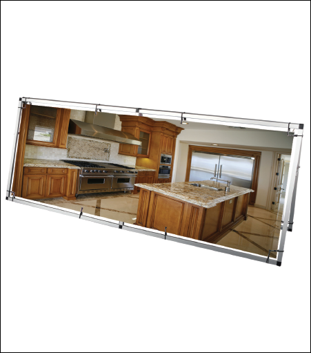Outdoor Aluminum A Frame Display