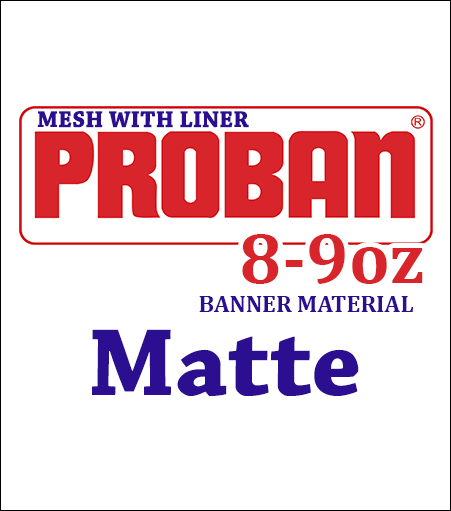 ProBan® Mesh with Liner Banner Material