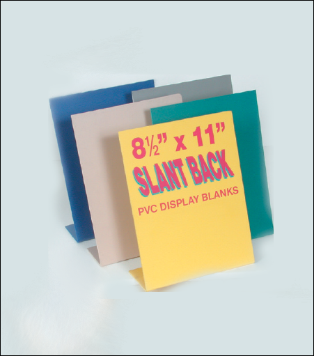 PVC Display Blanks