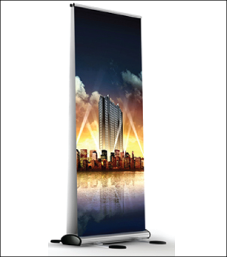 Sierra Outdoor Retractor Banner Stand