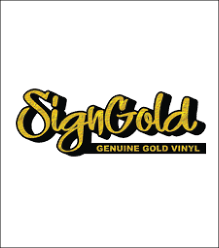 SignGold Genuine Gold Vinyl