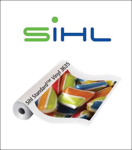 Sihl Standard Vinyl PSA Matte 3635