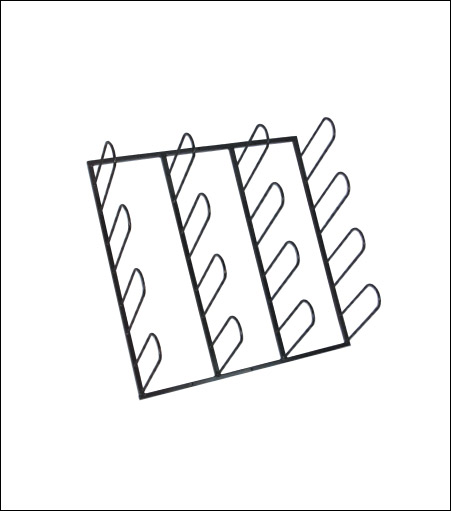 Vinyl Rack Wall System