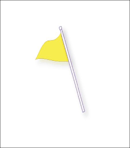 Steel Top Section Flag Pole