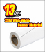 13oz Xtra Wide White Banner Material