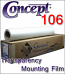 Concept® 106 Transparency Mounting Film