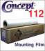 Concept® 112 Clear Glass Mounting Film