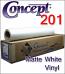 General Formulations® 201 Matte White Vinyl