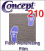 General Formulations® 210 Floor Advertising Film (By The Roll)