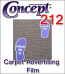General Formulations® 212 Carpet Advertising Vinyl (By the Yard)