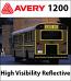 Avery 1200 A7 High Visibility Reflective Vinyl