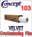 Concept® 103 Textured Overlaminating Film (By the Roll)
