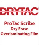 ProTac® Scribe Dry Erase Overlaminating Film