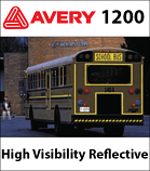Avery 1200 A7 High Visibility Reflective Vinyl