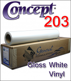 General Formulations® 203 Gloss White Vinyl
