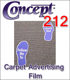 General Formulations® 212 Carpet Advertising Vinyl (By the Yard)
