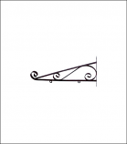 Decorative Scroll Bracket