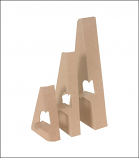 Chipboard Easel (Single Wing)