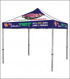 Digitally Printed Tent