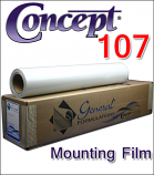 General Formulations® 107 Opaque White Mounting Film