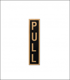 """Pull"" Door Sticker"