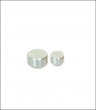 Solid Brushed Aluminum Stand Off CAP ONLY