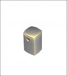 Aluminum Square Standoff 15x21