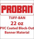 ProBan® Tuff-Ban Banner Media