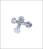 Hex Bolt with Lock Nut